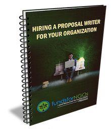 Hiring a Proposal Writer