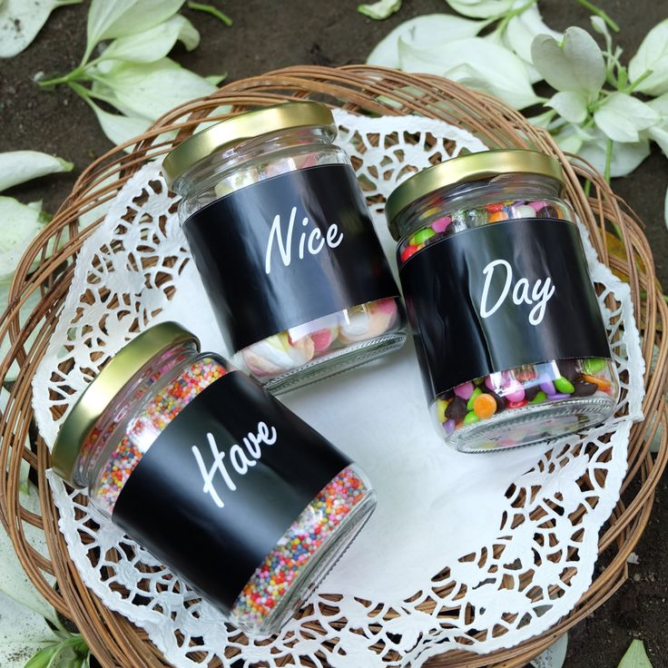 Chocolate in Jar. Have nice day