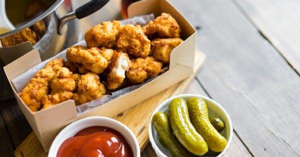 Рецепт хрустящего попкорна из курицы. Мне кажется, я всегда хотел приготовить подобное!