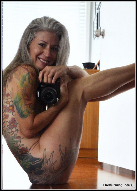 Old Naked Lady Tattoo 29