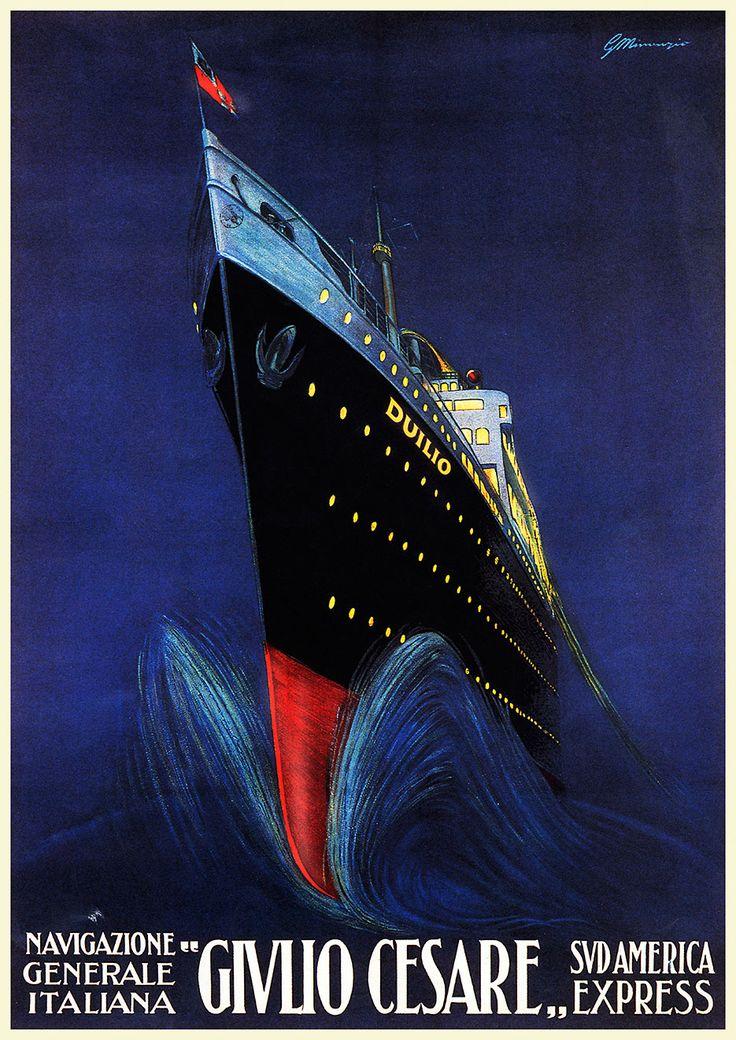 36 best art deco posters ocean liners images on. Black Bedroom Furniture Sets. Home Design Ideas