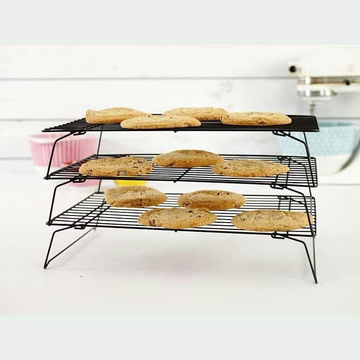 Rak Pendingin Kue Susun 3 3 Tier Cooling Rack Harga Hanya 92 000 Berat 1500 Gram Bahan Lebih Tebal Dan Lebih Kok Changing Table Home Decor Furniture