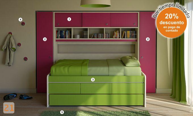100 mejores imágenes en Muebles Juveniles en Pinterest | Chicos ...