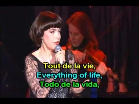 Learn French with - Mireille Mathieu Pardonne-moi ce caprice d'enfant - YouTube