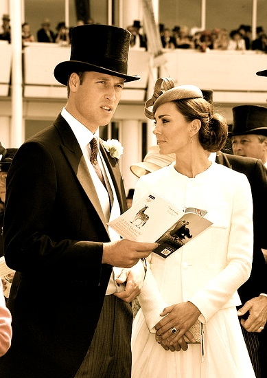 What a classic look. Love them! Prince William & wife, Duchess now