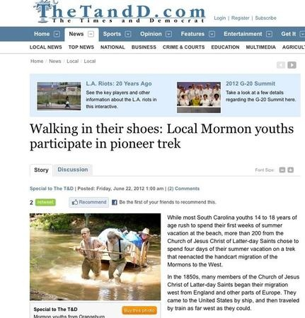 Treks remind LDS youth of their pioneer heritage | Deseret News