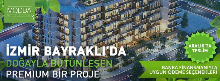 Reklam: İzmir Bayraklı'da doğayla bütünleşen premium bir proje