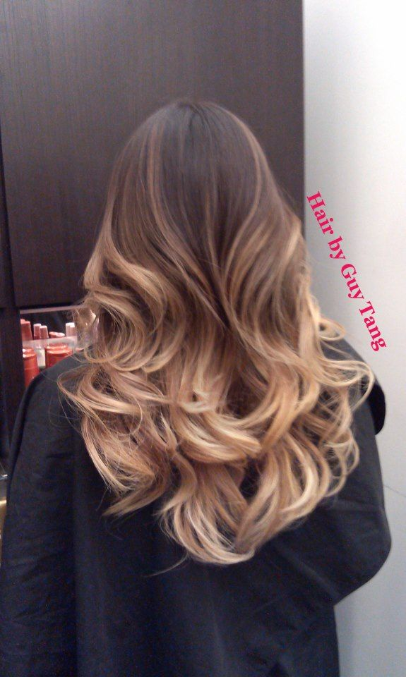 ombre... this one looks so pretty! Maybe! If I have the money, haha...