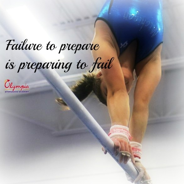 Failure to prepare is preparing to fail.