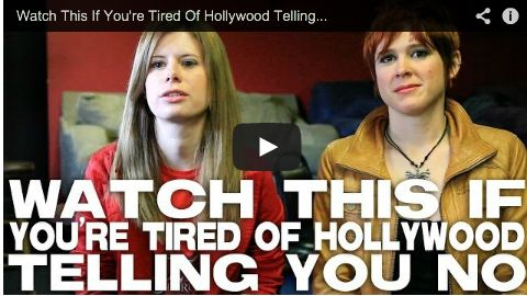 Watch This If You're Tired Of Hollywood Telling You No by Elle Schneider & Lily Cade via http://filmcourage.com/.  More video interviews at http://www.youtube.com/user/filmcourage