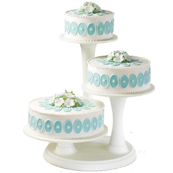 wilton cake stands wedding cakes wilton 3 tier pillar cake stand wedding birthday 1423