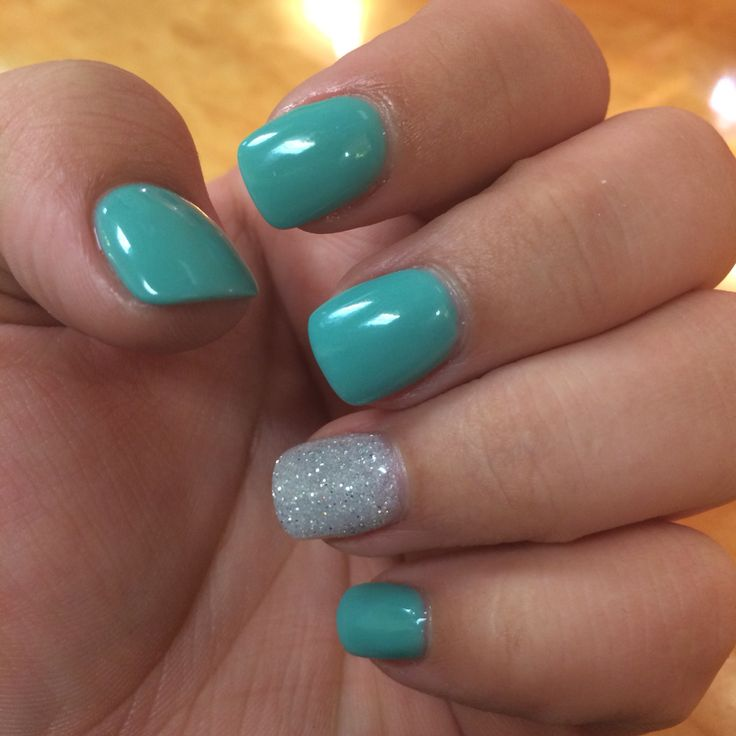 Got my nails done today! Nexgen is the best! - 25+ Unique Teal Nail Designs Ideas On Pinterest Pretty Nail