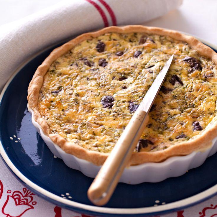 Découvrez la recette Tarte aux escargots sur cuisineactuelle.fr.