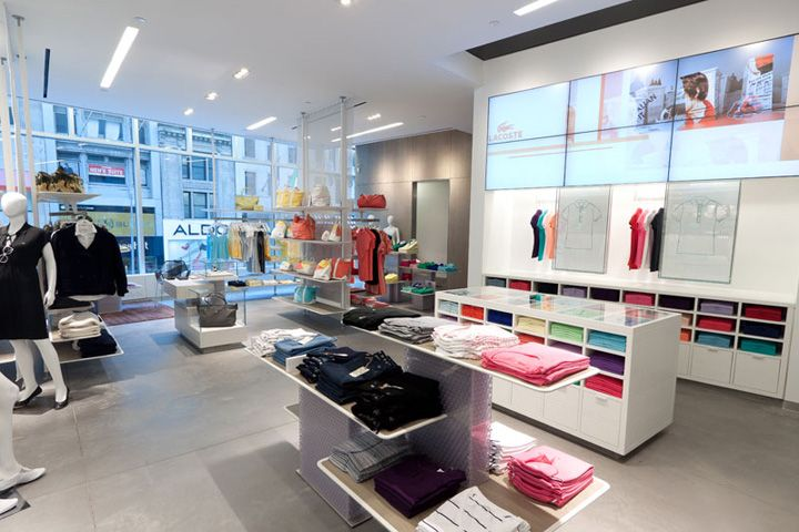 Lacoste flagship store by Design Republic Partners, New York