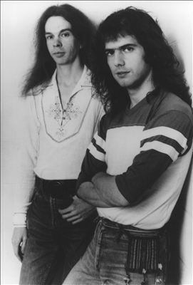 Pat Metheny and Lyle Mays back in the 70s.