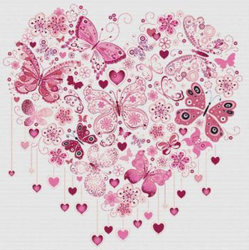 Butterfly Heart by X Squared - House Of Stitches