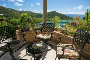 ''Cara Mia'' is an exquisite stone and masonry rental villa with 3 bedrooms, 3.5 bathrooms and pool in the prestigious Point Rendezvous neighborhood located close to Cruz bay town, north shore beaches, restaurants, shopping and ferry.