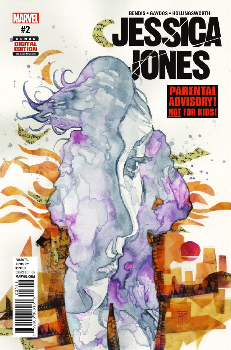 Preview: Jessica Jones #2, Story: Brian Michael Bendis Art: Michael Gaydos Cover: David Mack Publisher: Marvel Publication Date: November 16th, 2016 Price: $3.99    ...,  #All-Comic #All-ComicPreviews #BrianMichaelBendis #Comics #DavidMack #JessicaJones #Marvel #MICHAELGAYDOS #previews