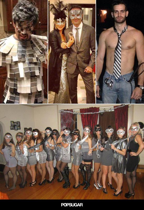50 shades of grey costume pinterest