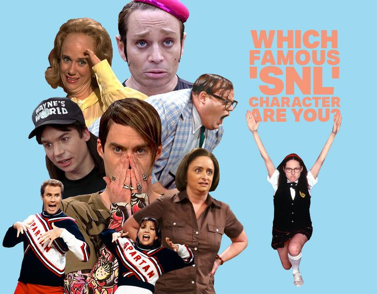 Which Famous 'SNL' Character Are You? - Quiz - Zimbio
