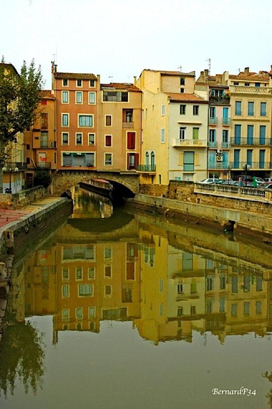 Canal de la Robine - Narbonne www.audetourisme.com