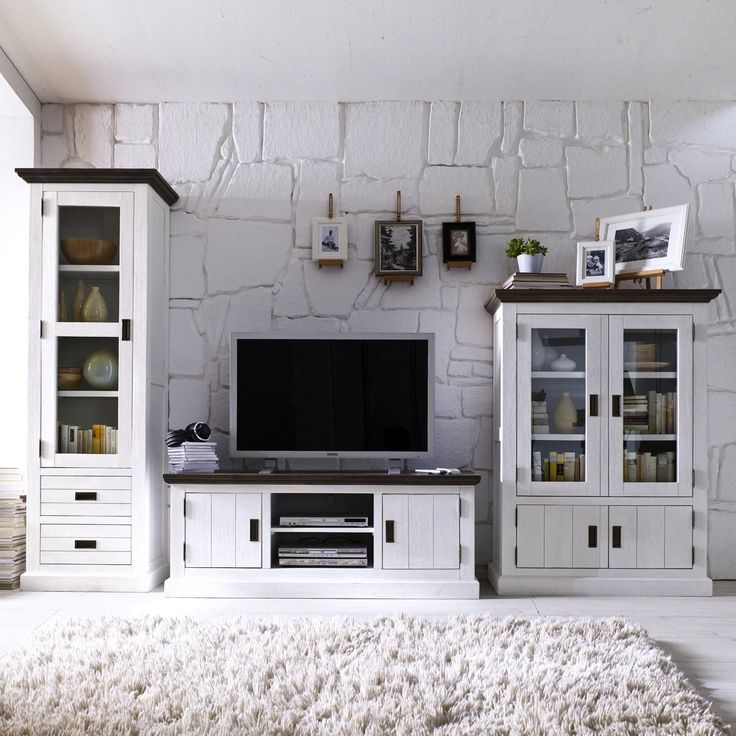 Viel Stil und eine #charakterisitische #Ausstrahlung haben die - schrankwand wohnzimmer modern