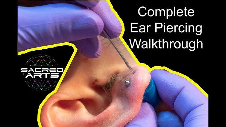 Ear Piercings | Complete Ear Piercing Guide | Sacred Arts ...