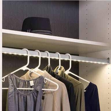 Hafele Led Wardrobe Sensor Rail