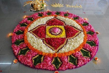 Floral #Gujarati #Rangoli Designs