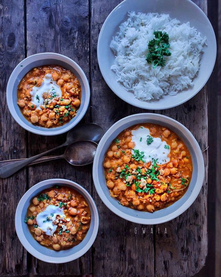 chickpea curry by @grubwithanindianabroad   curry mit kichererbsen  карри с нутом #doablerecipes