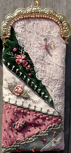 Victorian quilted cases