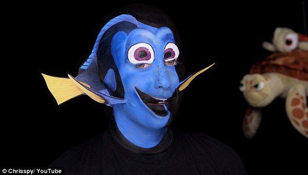 Wajah asli karakter Dory ini bikin terpesona, awas naksir! - http://wp.me/p70qx9-2TX