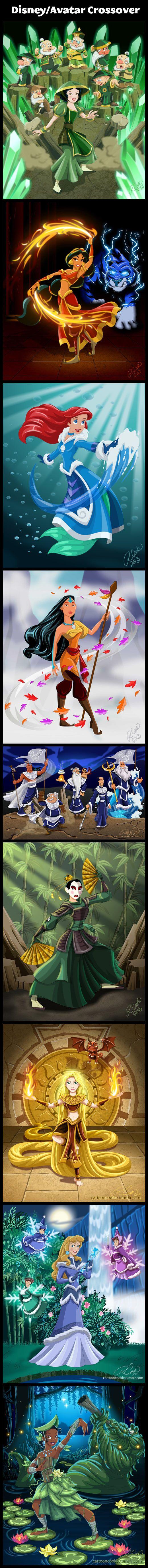 Disney/Avatar Crossover… @Jess Liu Vena  | @Laura Jayson Crum | @Sharron Simmons Reyes | @Danese Smithson Perkins