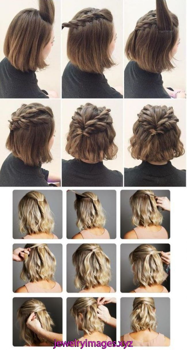 170 Easy Hairstyles Step by Step DIY hair-styling can help you to stand apart from the crowds   Are you feeling tired with your regular look? If you a…