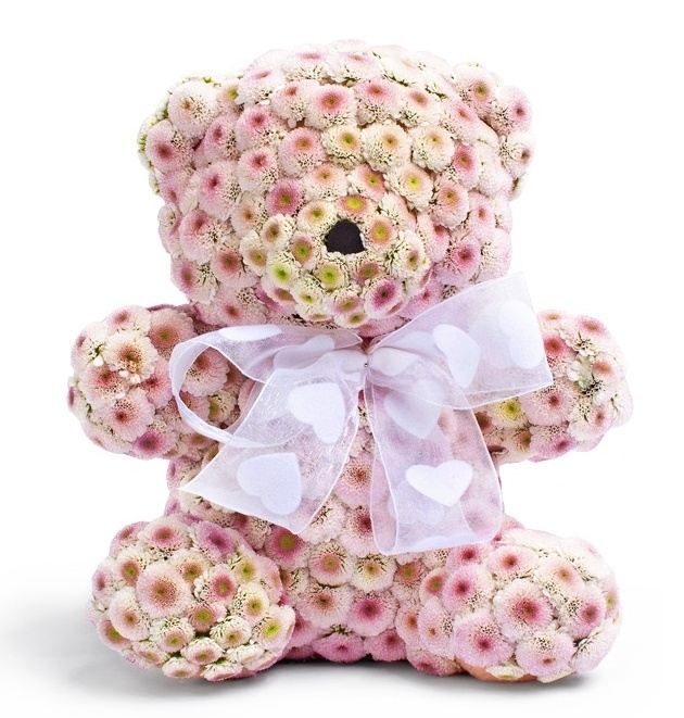 Toys and anything you want made of flowers! A beautiful present for your loved ones, friends or colleagues. Free delivery in North York, Richmond Hill, Woodbridge, Maple, Thornill. Phone: (416) 909 9630 |  #RussianToronto