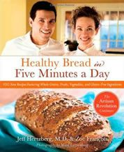This book has literally changed my life.  We have fresh bread often -- no kneading, no bread machine.  Happy husband.