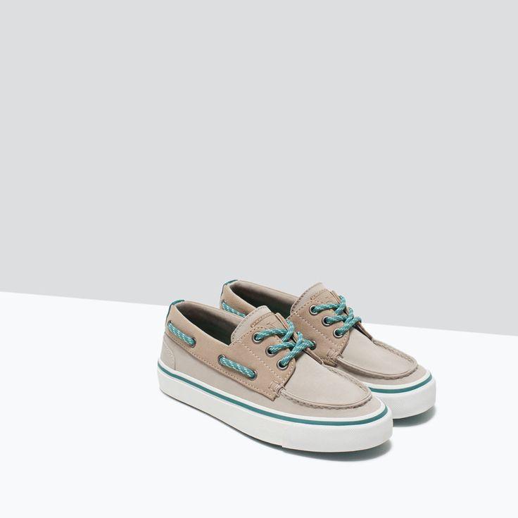 ТОПСАЙДЕРЫ-Обувь-Мальчики | 4-14 лет-ДЕТИ | ZARA Российская Федерация