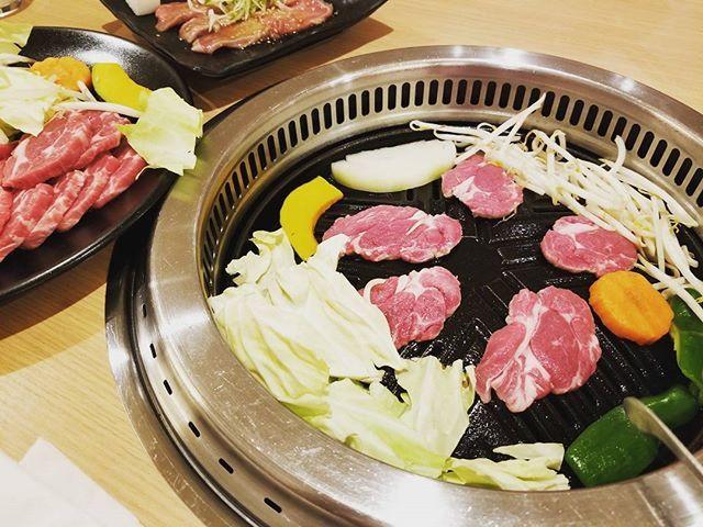 #食肉センター #ジンギスカン #ラム肉 #ジンギスカン鍋 #矢巾 #ヘルシー #がっつり #肉  弟迎え行って食べてきた👌
