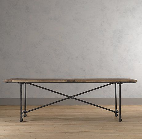 Best 25 Industrial Dining Tables Ideas On Pinterest Industrial Dining Rooms Industrial Style