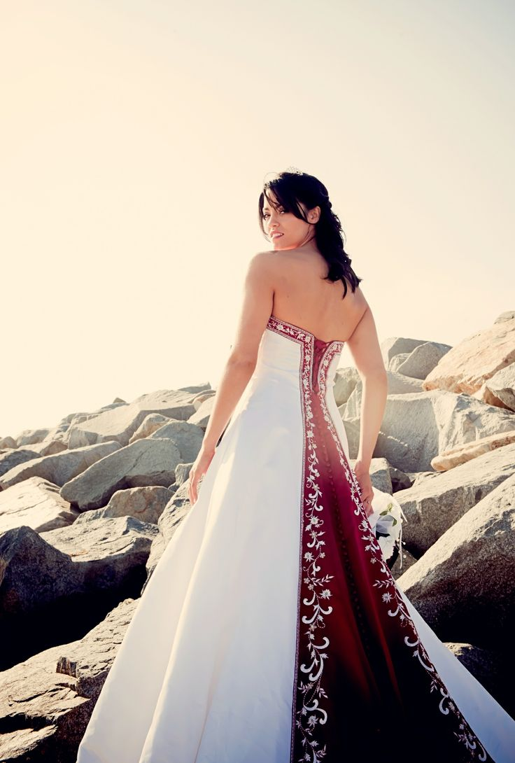 Want This But In Shamrock Wedding Dress Red Alfred Angelo Dream Color