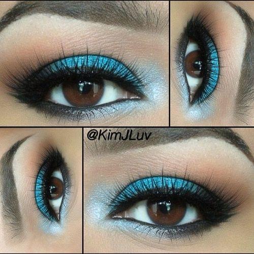 25+ best ideas about Turquoise eyeshadow on Pinterest | Aqua ...