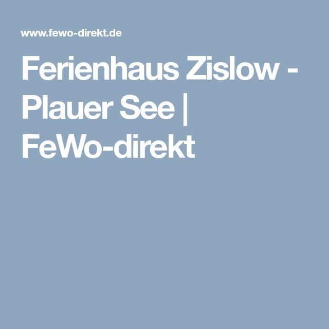 Ferienhaus Zislow - Plauer See   FeWo-direkt