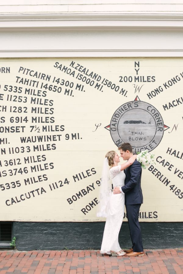 Classic Nantucket wedding: http://www.stylemepretty.com/massachusetts-weddings/nantucket/2016/06/01/nautical-weddings-take-note-this-is-how-its-done/ | Photography: Brklyn View Photography - http://brklynview.com/