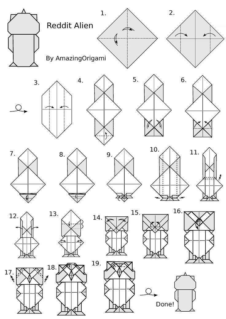 simple origami pokemon instructions