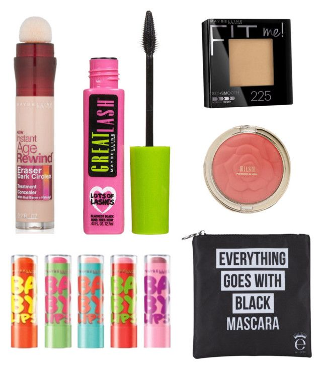 """Middle school makeup"" by avasarchet on Polyvore featuring beauty, Maybelline and Eyeko"