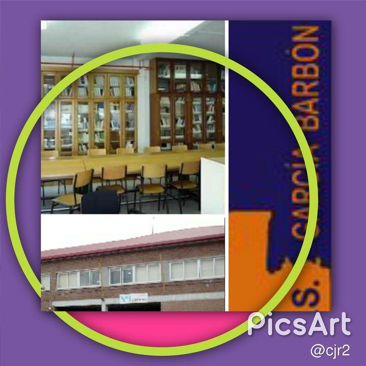 Este é o collage que fixen coas fotos do meu instituto, o IES García Barbón de Verín. Feito ca aplicación para Crear PicsArt.