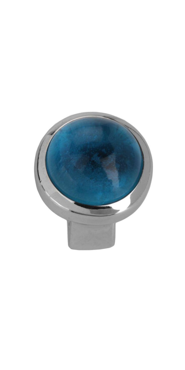 Joy de la Luz | Slide Stone big blue round