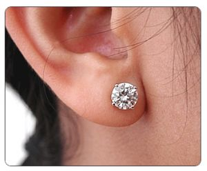 Images Of Female Earring Studs Diamond Stud Earrings For Women 3 Bridal Trends S And Pinterest
