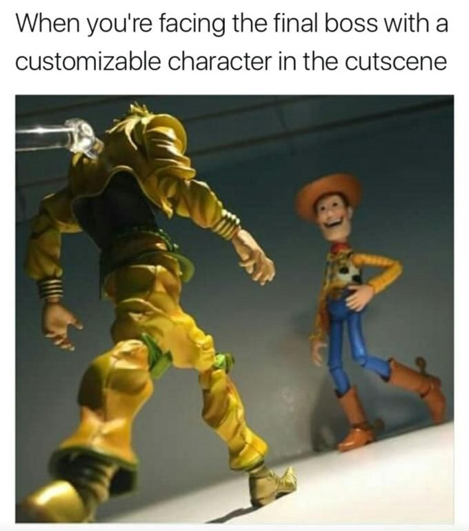 Which one is supposed to be the customizable character, I wonder?