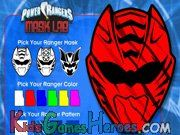 This is one of the Power Rangers Games online where you can design and print your own Power Ranger Mask, using your imagination.